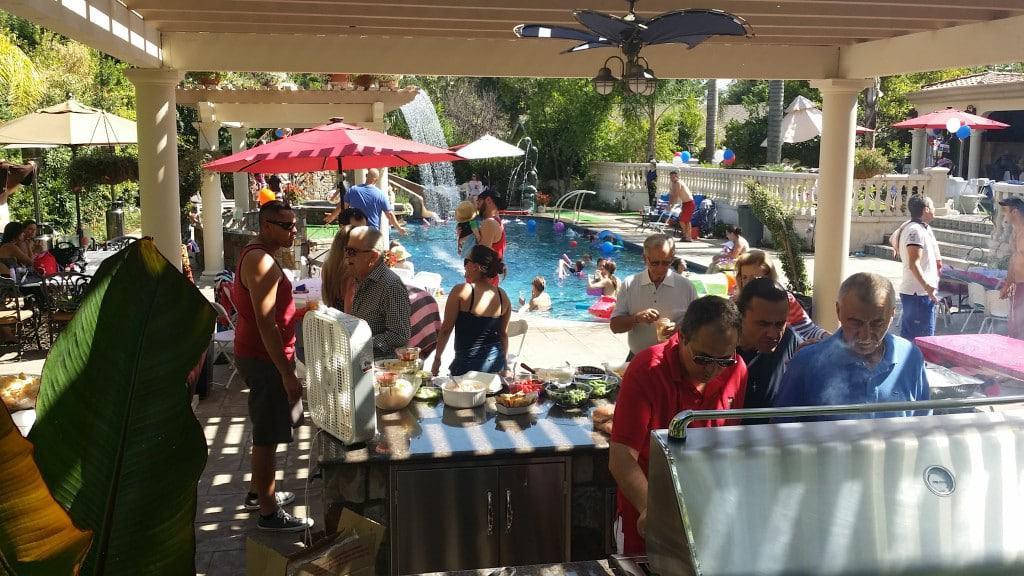 La Canada Swimming Pool Party