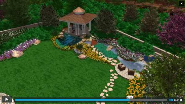 ScreenshotofVideoPlayingcustomddesignlandscapeplans