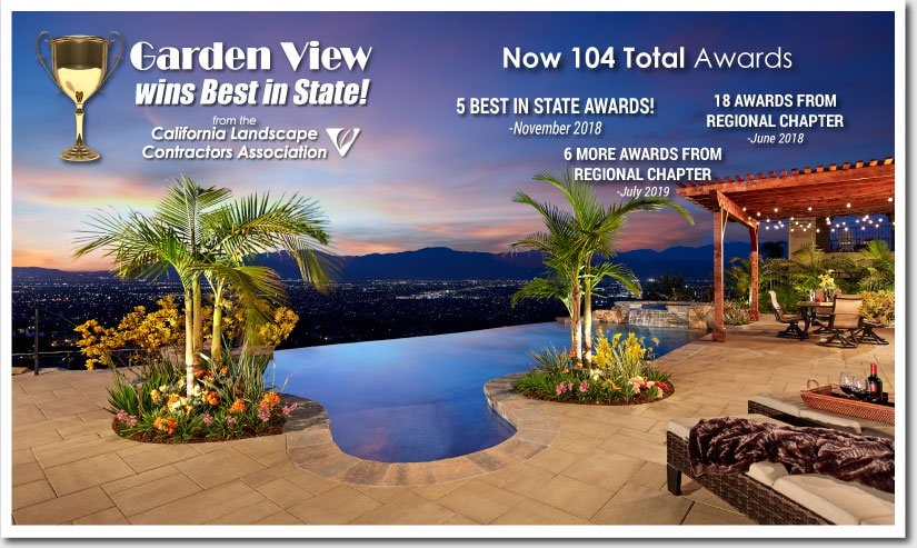 Garden View wins 104 Awards from the CLCA