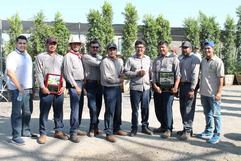 Best Landscape Maintenance award 2015 presidents