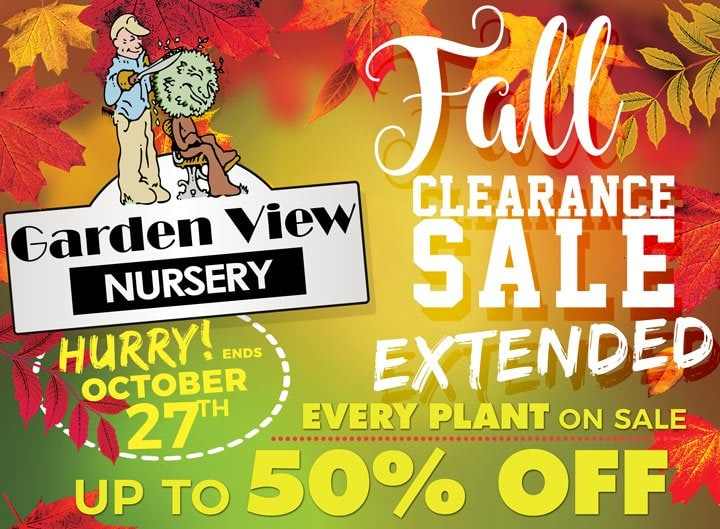 Fall Sale Ends October 27th