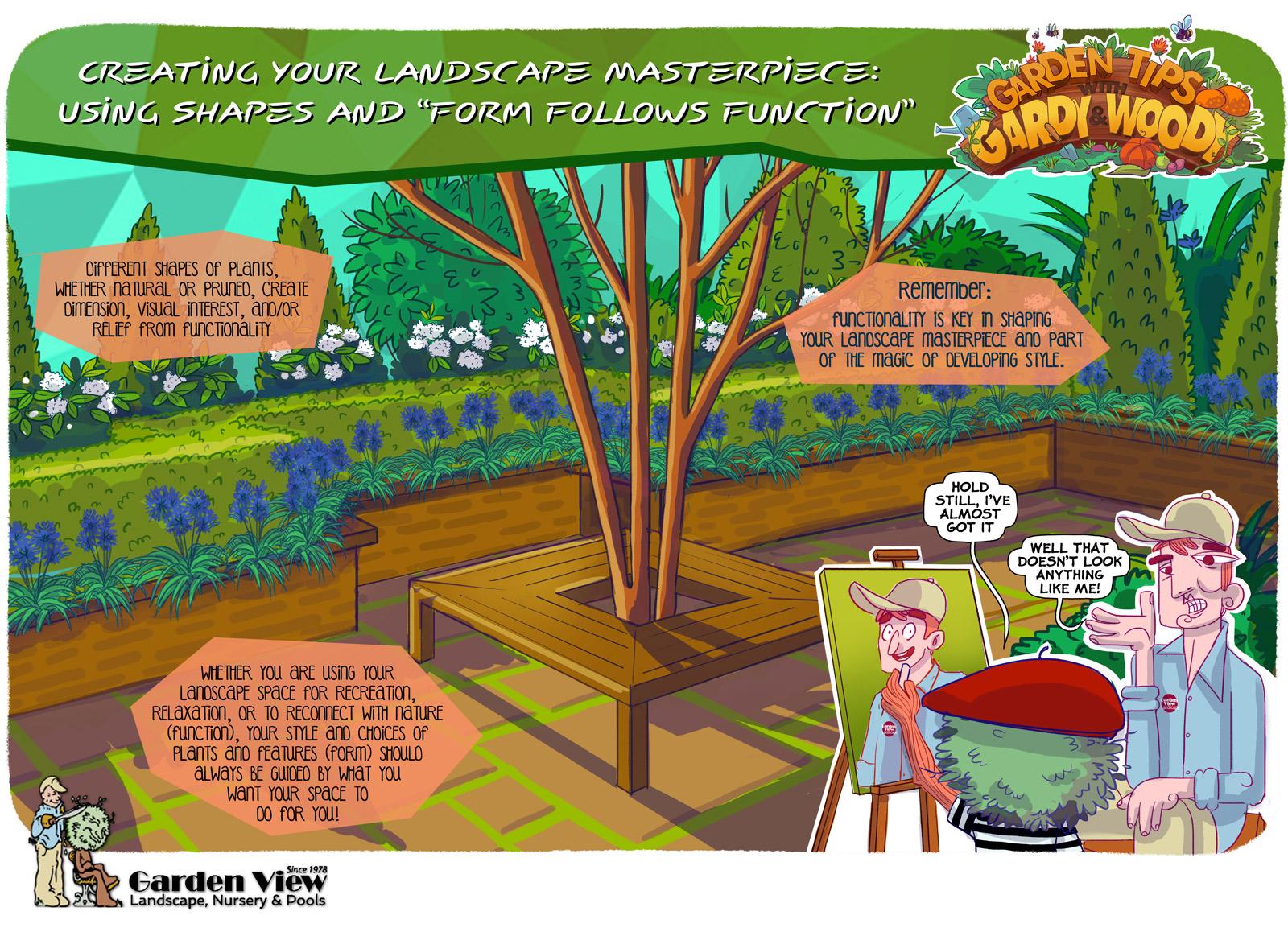 Form and Function Landscape Design Tips