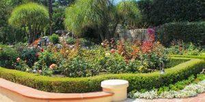 presidents award flower garden
