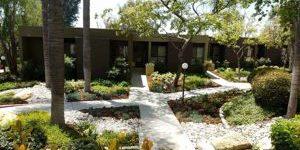 HOA landscape award winning residence and steps