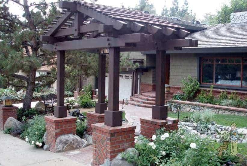 Landscape construction garden view inc