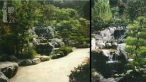 Japanese Waterfall multiple angles
