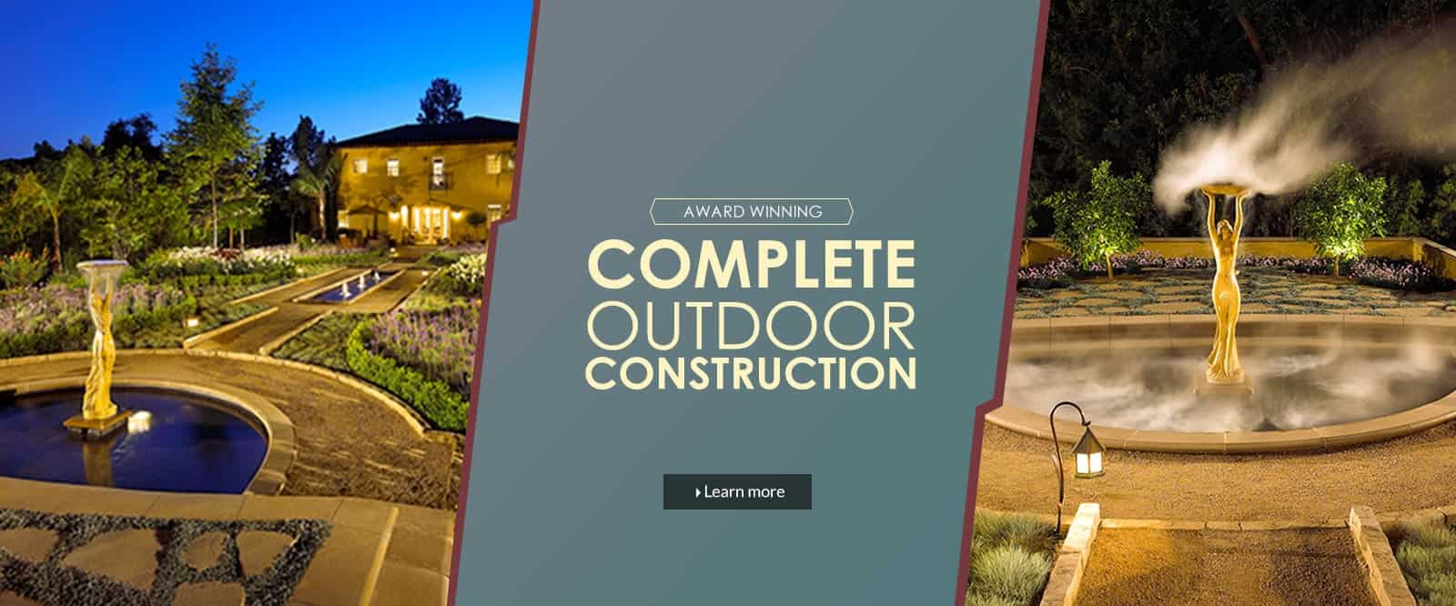 Landscape Construction - Monrovia Landscape Contractor
