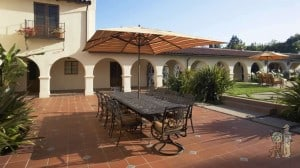 Mediterannean Tiled Patio