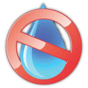 no water icon
