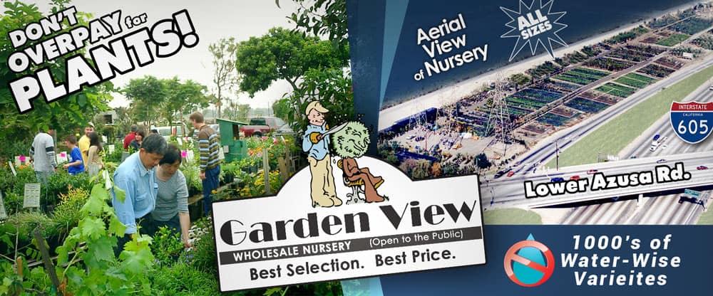 Garden View Wholesale Nursery - Open to the Public