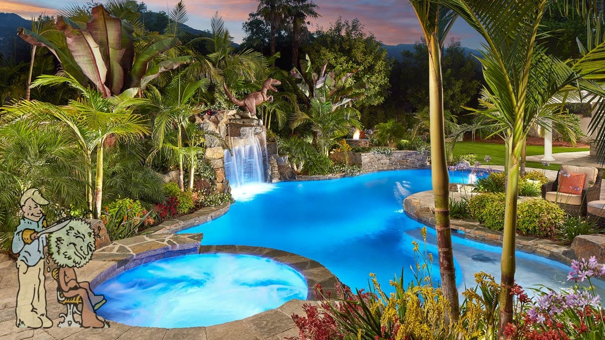 Swimming Pool Construction Garden View Landscape Nursery And Pools