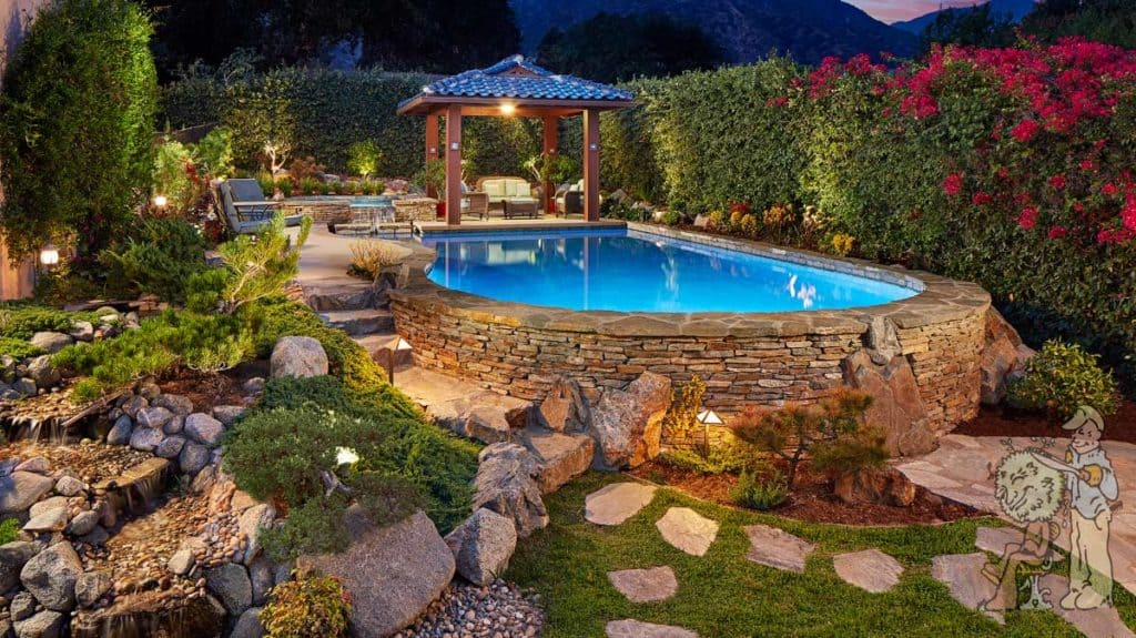 Swimming Pool Photo Gallery | Garden View Landscape, Nursery ...