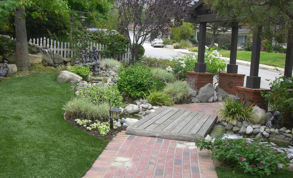 Sierra Madre Pool Remodel And Front Yard Landscape