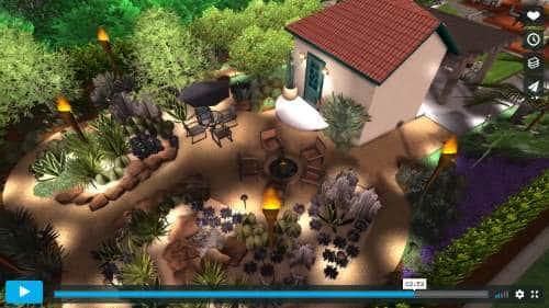 water-wise yard 3d design video thumbnail