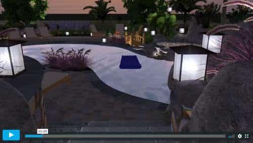 Free Form pool design video thumbnail